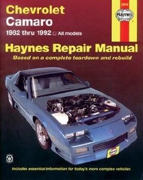 Camaro Books 1982-1992