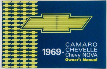 Camaro Owners Manuals