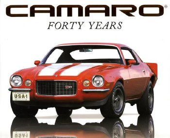 1967-1981 Camaro Camaro Forty Years Hardcover