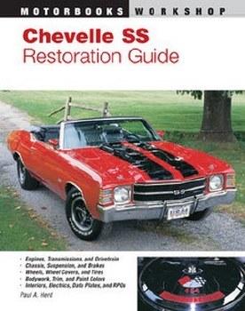 Chevelle Restoration Books