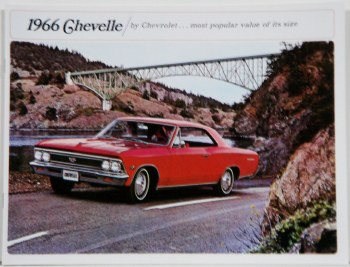 Chevelle Sales Brochures