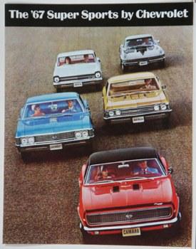 Camaro Sales Brochures