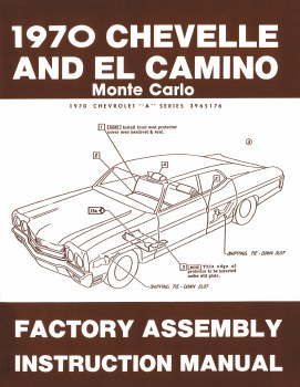 Chevelle Assembly Manuals
