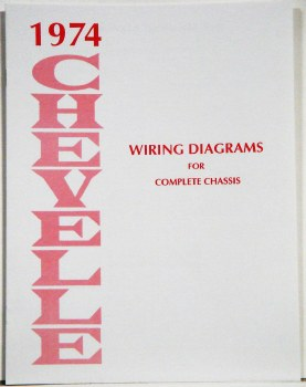 1974 Chevelle Factory Wiring Diagram Manual - 1967, 1968, 1969 Camaro Parts  - NOS, Rare, Reproduction Camaro Parts for your RestorationHeartbeat City Camaro