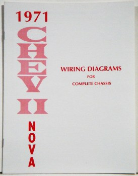 1971 Nova Factory Wiring Diagram Manual