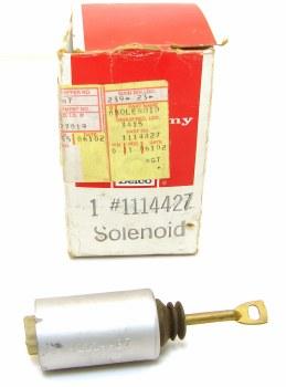 1969 Camaro NOS Cowl Induction Flapper Solenoid Original GM Part# 1114427
