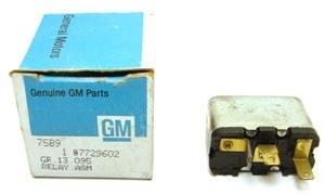 1969 Camaro NOS Cowl Induction Relay Assembly  Original GM Part# 7726902