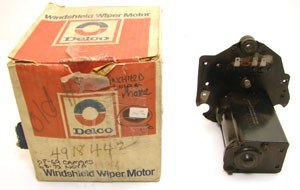 1969 Camaro & Firebird NOS Windshield Wiper Motor Assembly Original GM# 4918442