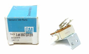 1969 Camaro NOS AC Fan Speed Switch Original GM Part# 3929093