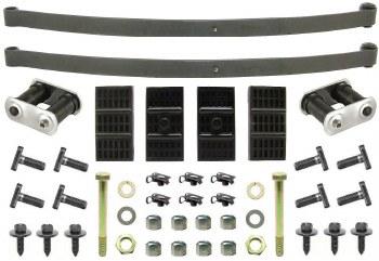 67 68 69 Camaro & Firebird Coupe Mono Leaf Springs & Install Kit OE  USA!