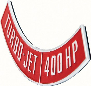 1965-1974 Camaro Chevelle Nova Diecast Air Cleaner 396 Raised Emblem