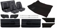 1967 Camaro Coupe Basic Deluxe Interior Kit  Black