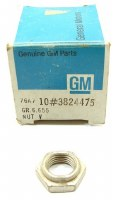 67 68 69 Camaro NOS Power Steering Pump Pulley Nut  Original GM Part# 3824475