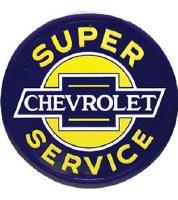 """1967-81 Camaro Chevelle Nova  Wall Sign """"Super Chevrolet Service"""""""