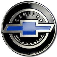 "1962-81 Camaro Chevelle Nova  Wall Sign  ""Genuine Chevrolet"""