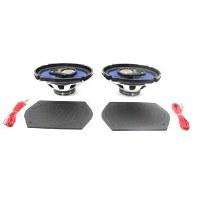 67 68 69  Camaro & Firebird Rear Package Tray Or Rear Deck 6x9 Speakers 3 Way 200 Watt