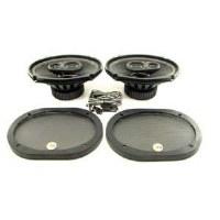 67 68 69 Camaro & Firebird Rear Deck Mounted 6x9 120 Watt Speakers