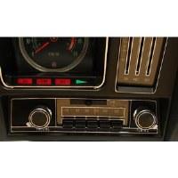 1969 Camaro Chevelle Nova AM/FM Blue Light Stereo Radio
