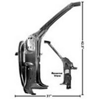 68 69 Camaro & Firebird Coupe Door Pillar Inner Frame RH