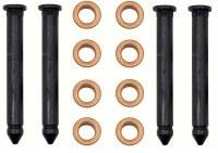 67 68 69  Camaro & Firebird Upper & Lower Door Hinge Pin & Bushing Kit 16 Pieces