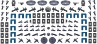 1967 Camaro Master Body Fastener Kit w/Standard Grille 421 Pieces USA!