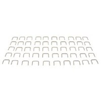 67 68 69 Camaro & Firebird Splash Shield Staple Kit  Stainless Steel 50 pcs