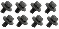 67 68 69  Camaro & Firebird Hood Hinge Mounting Bolt Set 8 Pieces GM# 9419301