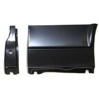 67 68 Camaro & Firebird Front Fender Lower Rear Repair Panel & Inner Brace  RH