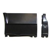 67 68 Camaro & Firebird Front Fender Lower Rear Repair Panel & Inner Brace  LH