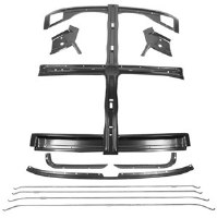 67 68 Camaro & Firebird Roof Panel Inner Support Brace Kit w/Rods