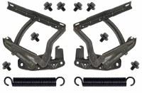 67 68 69  Camaro Hood Hinge & Spring Kit Fits: Standard & SS Hoods Only