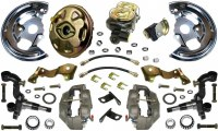 67 68 Camaro  Power Disc Brake Conversion Kit 4 Piston & USA 2 Piece Rotors