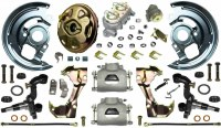 69 Camaro  Power Disc Brake Conversion Kit Single Piston Calipers & 1 Pc Rotors