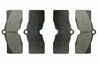 1969 Camaro JL-8 Disc Brake Front Or Rear Brake Pads Set