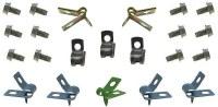 1969 Camaro & Firebird Brake Line Retainer Clip Kit  Assembly Line Correct