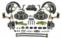 67 68 69 Camaro & Firebird Front Power Disc Brake Conversion Kit