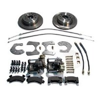 "67 68 69  Camaro & Firebird Rear Disc Brake Conversion Kit w/Ford 9"" Rear Only"