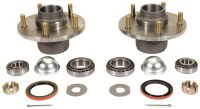 67 68 69  Camaro  Drum Brake Hubs w/Wheel Bearings Seals & Dust Caps
