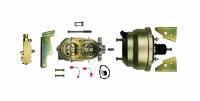 "67 68 69  Camaro & Firebird Slimline 8"" Brake Booster, Master & Valve Kit"