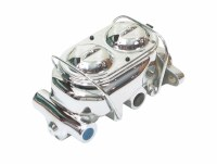 "67 68 69  Camaro & Firebird Chrome Disc Brake Master Cylinder w/1-1/8"" Cast Iron"
