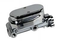 "1967-81 Camaro & Firebird Chrome Disc Brake Master Cylinder w/1"" Cast Aluminum"