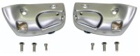 1968 1969 Camaro & Firebird Convertible Sunvisor Brackets With Satin