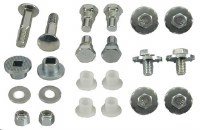 67 68 69  Camaro & Firebird Convertible Power Top Frame Mounting Hardware Kit