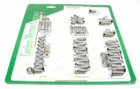 1964-81 Camaro Chevelle Nova  SB Chrome Engine Bolt Kit w/Headers