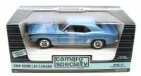 1969 Camaro 1969 SS 396 L89 Camaro Blue