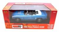 1969 Camaro 1969 SS 396 Camaro Conv Blue