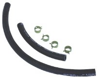 1967-1979 Camaro & Firebird Fuel Line Hose & Clamp Kit  Front & Rear
