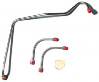 67 68  Camaro Holley Carburetor Fuel Line Kit 302-290 HP OE