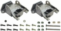 1967 1968 Camaro Engine Motor Mount Kit  Fits: All SB & BB Engines  Includes: Motor Mounts &  Assembly Line Correct Mounting Hardware  USA MADE!