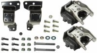 1969 Camaro Engine Steel Frame Mount & Motor Mount Kit  Fits: All SB Engines  Includes: Motor Mounts & Assembly Line Correct Mounting Hardware   USA MADE